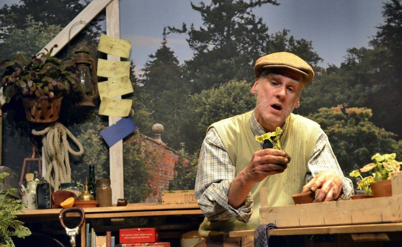 Theatre by the Lake production of OLD HERBACEOUS by Reginald Arkell with Peter Macqueen directed by Peter Macqueen and Stefan Escreet