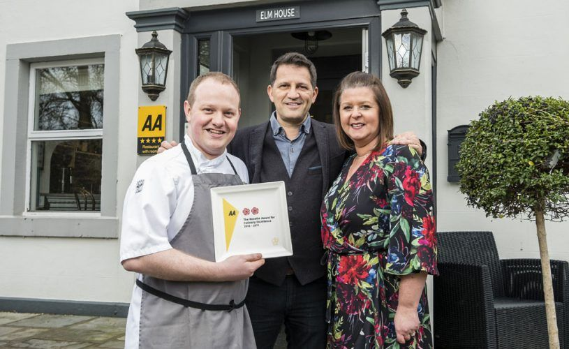 1863 GETS AN EARLY CHRISTMAS PRESENT – TWO AA ROSETTES!